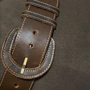 Ann Klein Brown Leather Belt